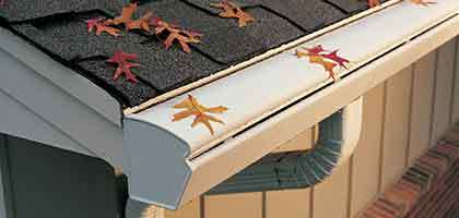 gutter guard protection system